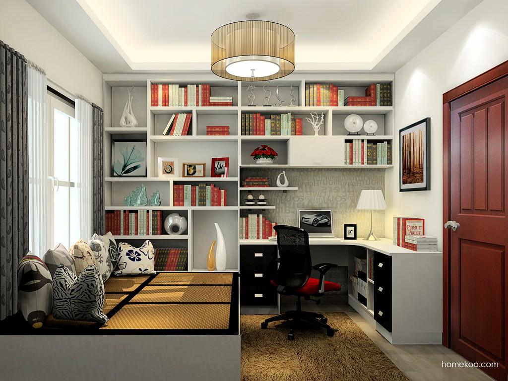 简约主义书房家具C19446