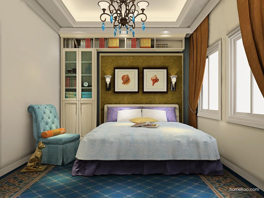 英伦印象卧房家具A19480