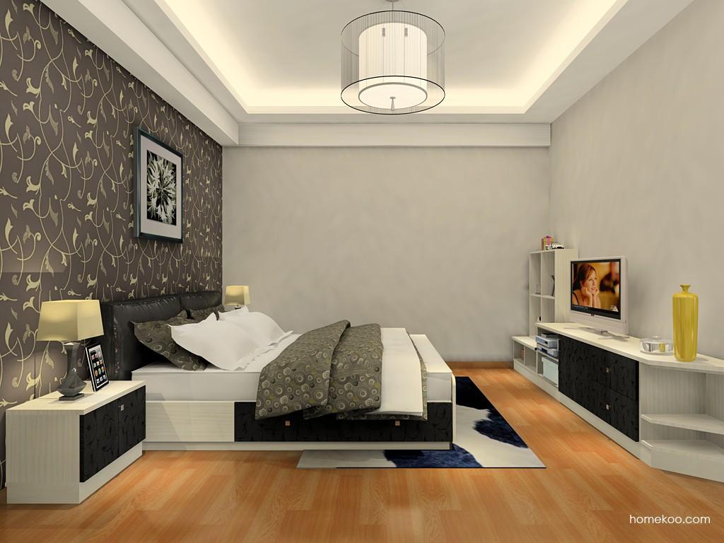 米兰剪影卧房家具A19493