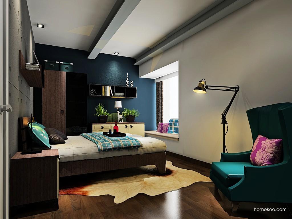 新实用主义卧房家具A19496