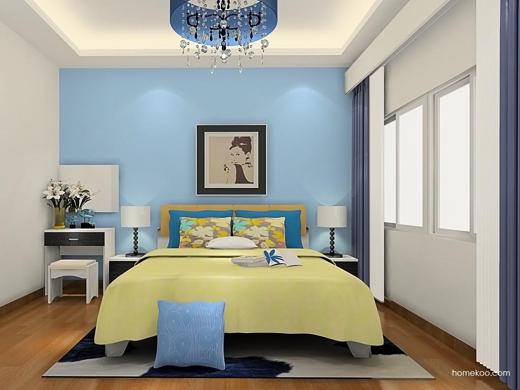 简约主义卧房家具A19500