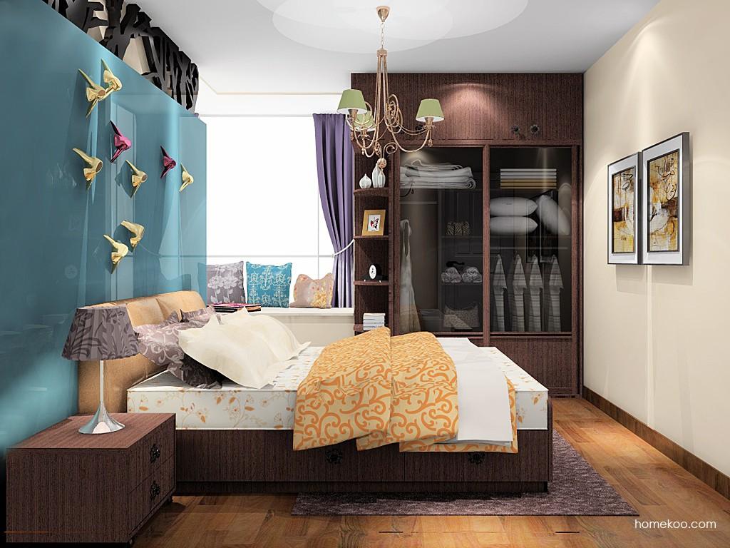 卡罗摩卡卧房家具A19504