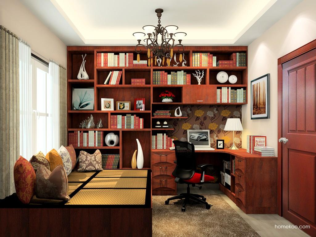 挪威月色书房家具C19460
