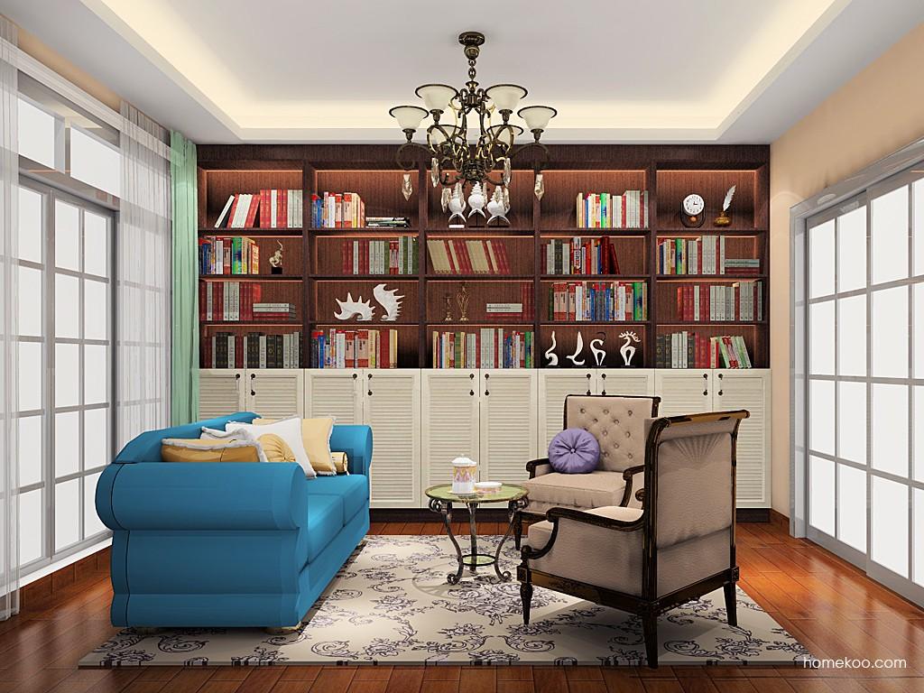 新实用主义书房家具C19462