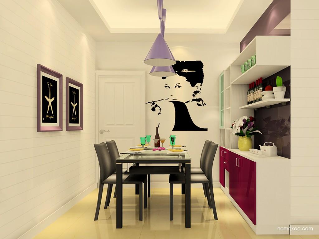 浪漫主义餐厅家具E17648