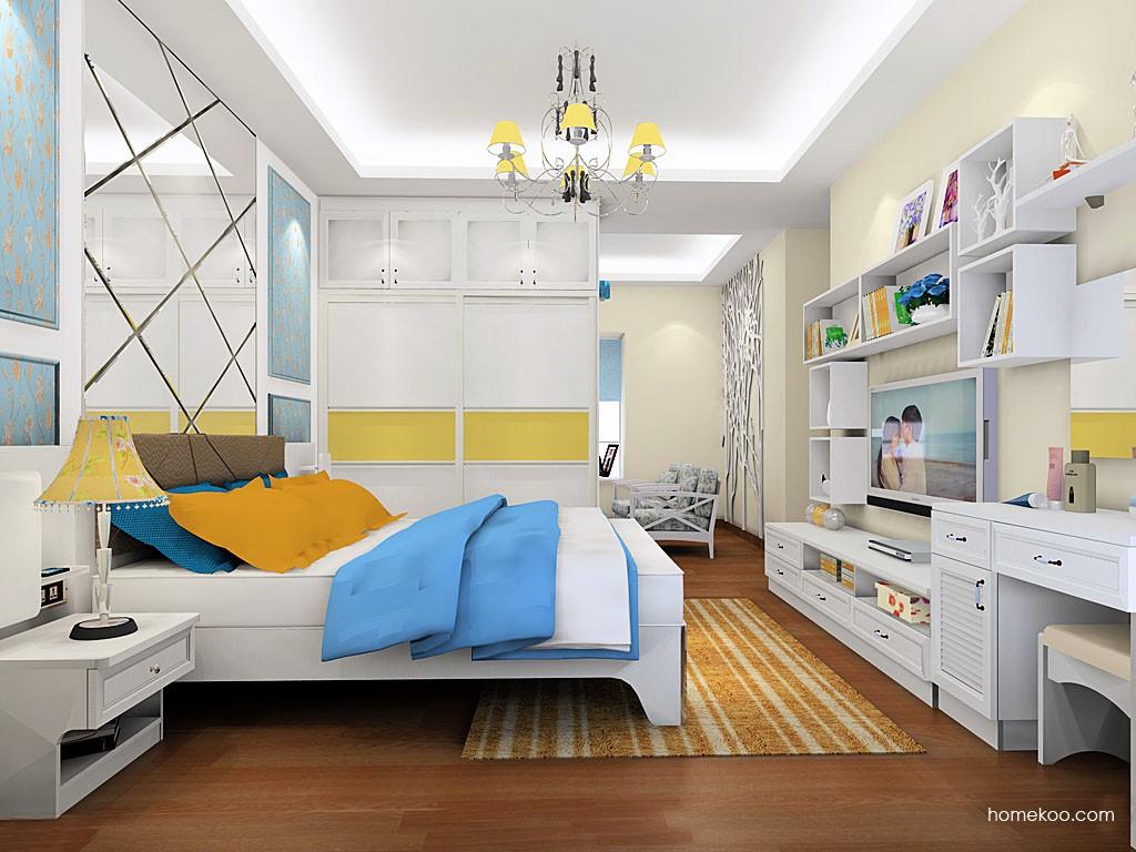 韩式田园卧房家具A19525