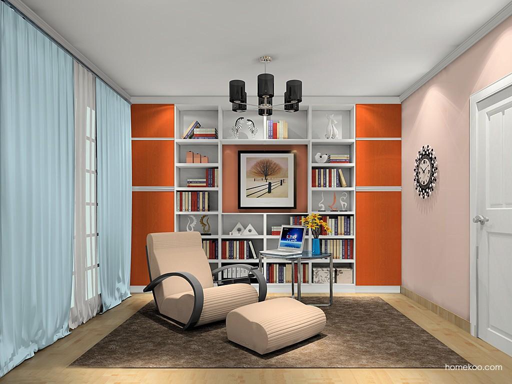 新实用主义书房家具C19476