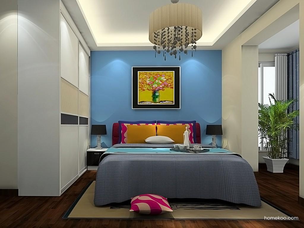 简约主义卧房家具A19531