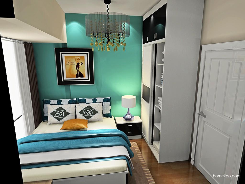 简约主义卧房家具A19537