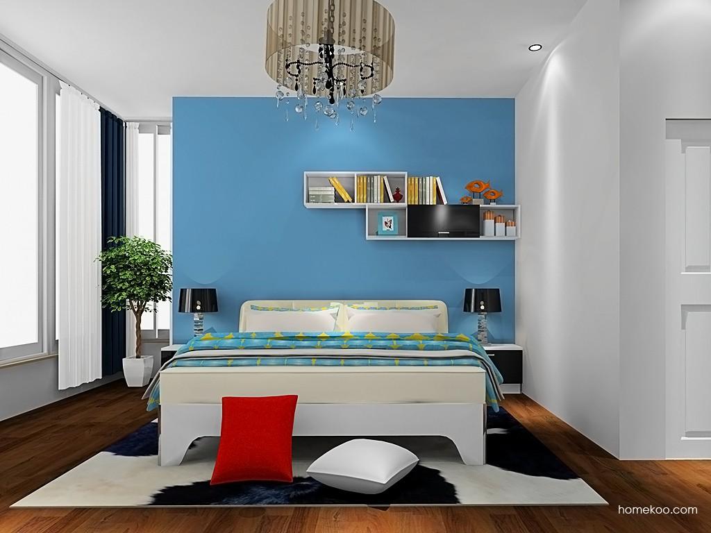 简约主义卧房家具A19546