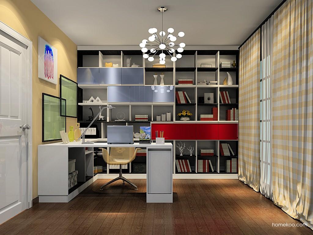 新实用主义书房家具C19486