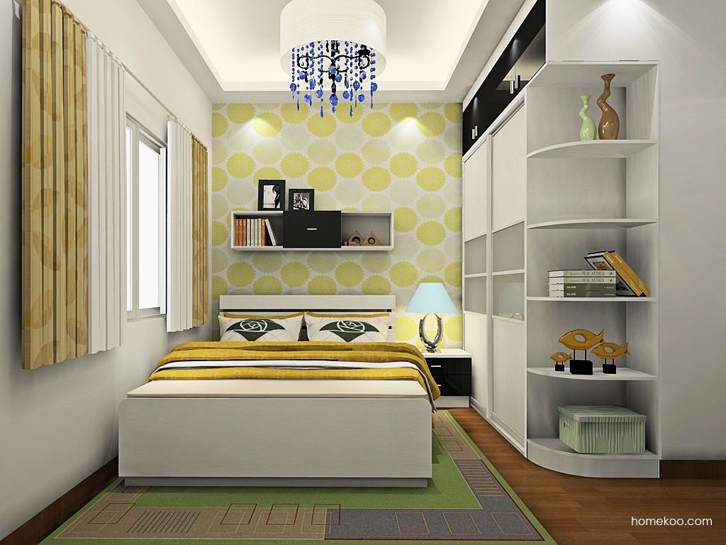 简约主义卧房家具A19553