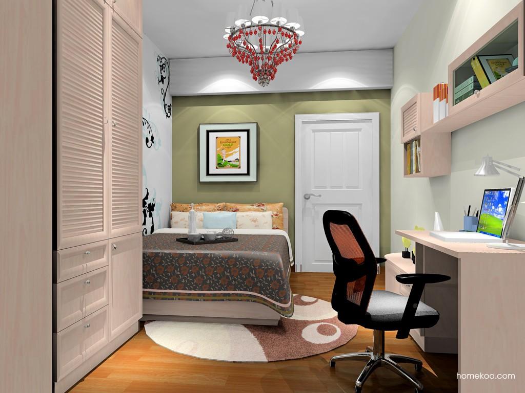 北欧阳光卧房家具A19559
