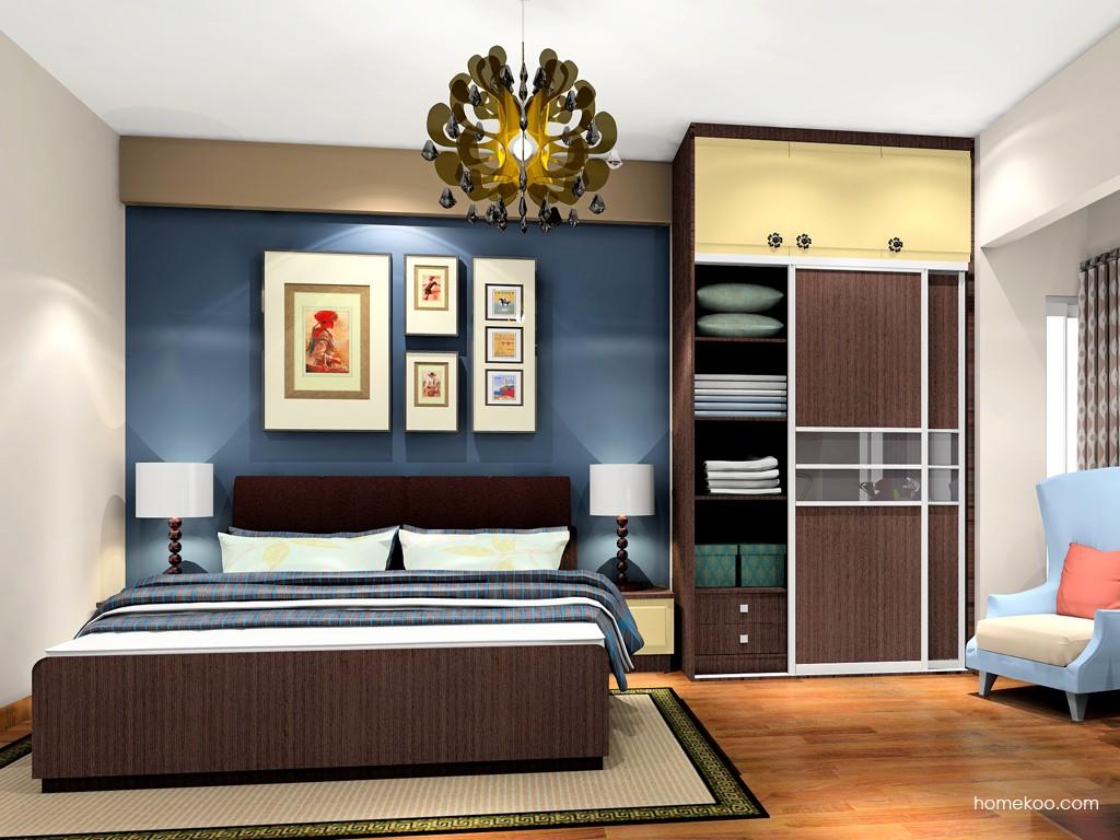 卡罗摩卡卧房家具A19566
