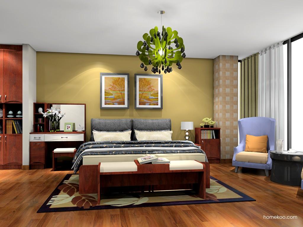 挪威月色卧房家具A19567