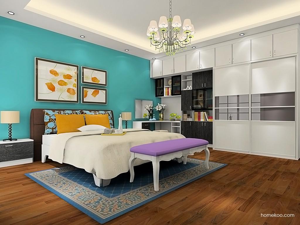 简约主义卧房家具A19575