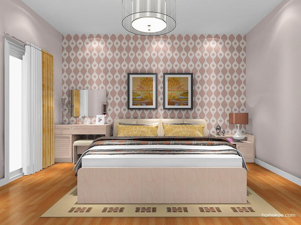 北欧阳光卧房家具A19579