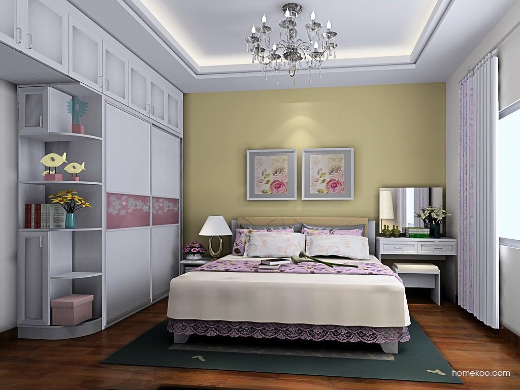 韩式田园卧房家具A19580