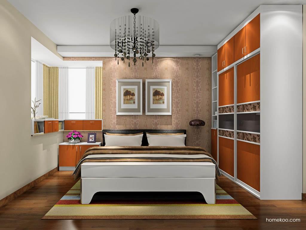 新实用主义卧房家具A19588