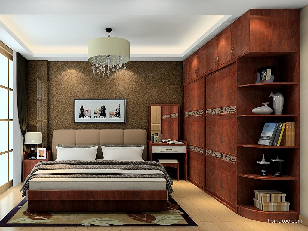 挪威月色卧房家具A19589
