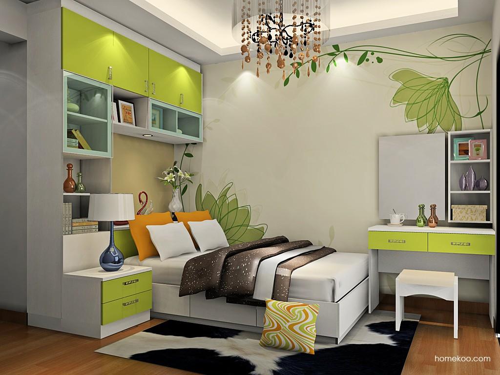 里昂春天卧房家具A19595