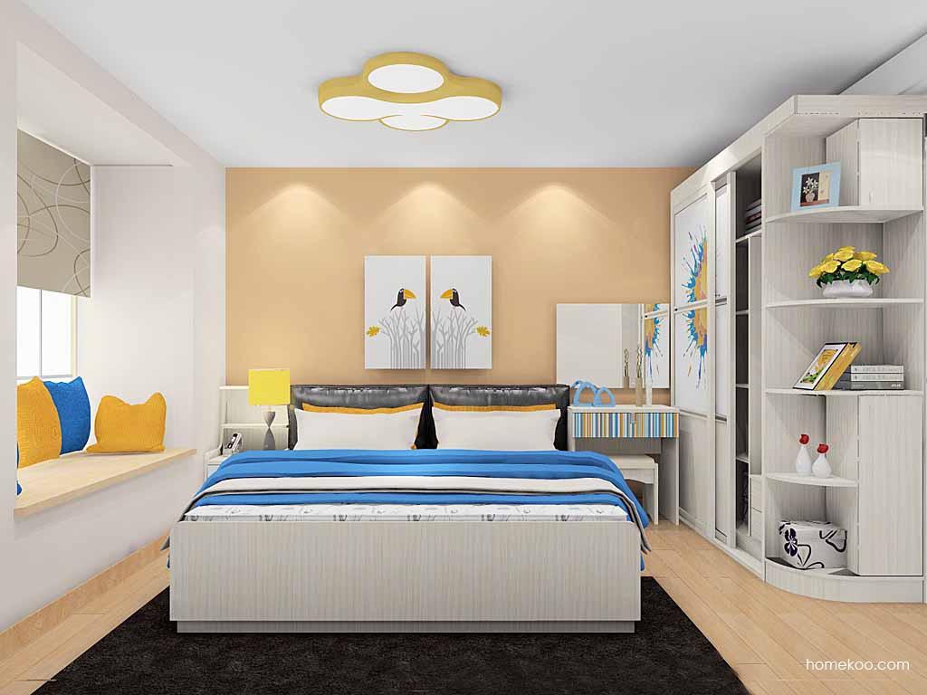 首尔之缤卧房家具A19602