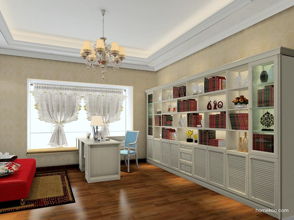 英伦印象书房家具C19497