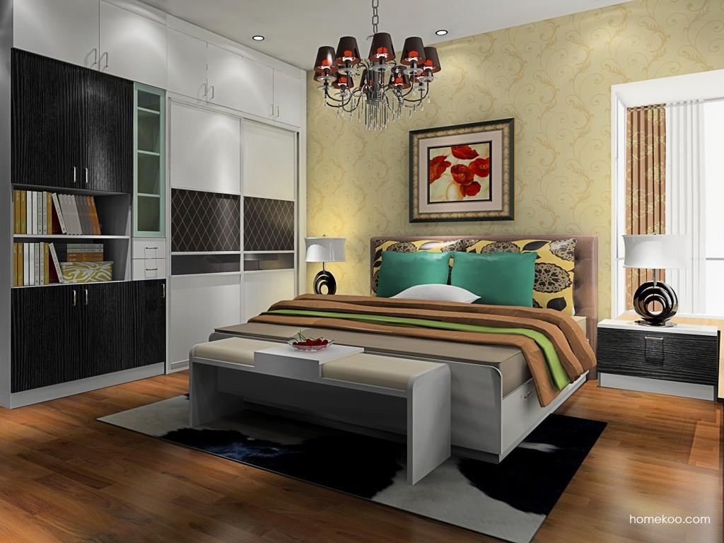 简约主义卧房家具A19612