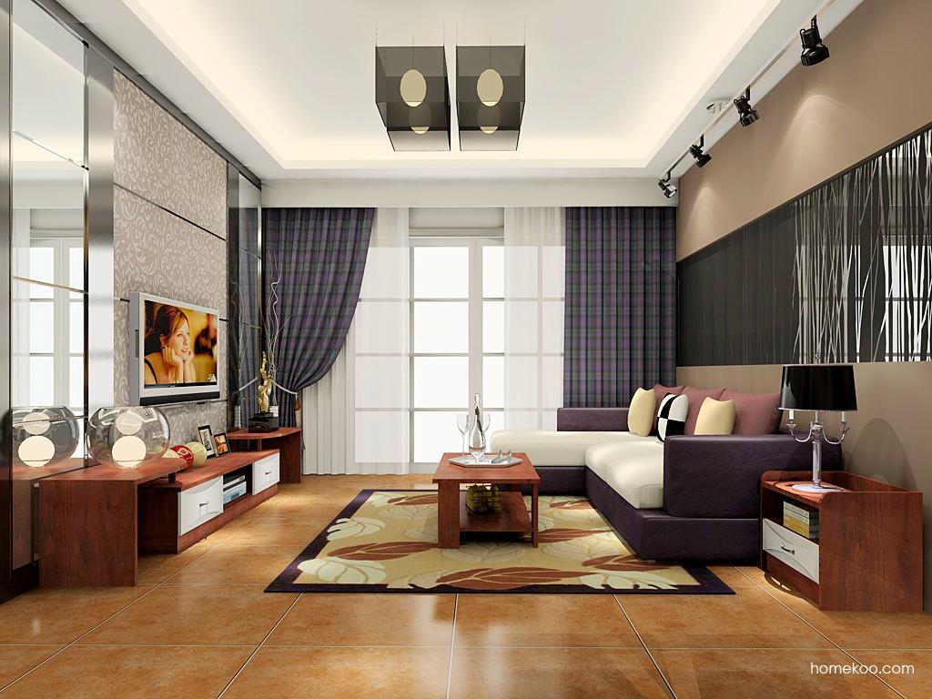挪威月色客厅家具D17752