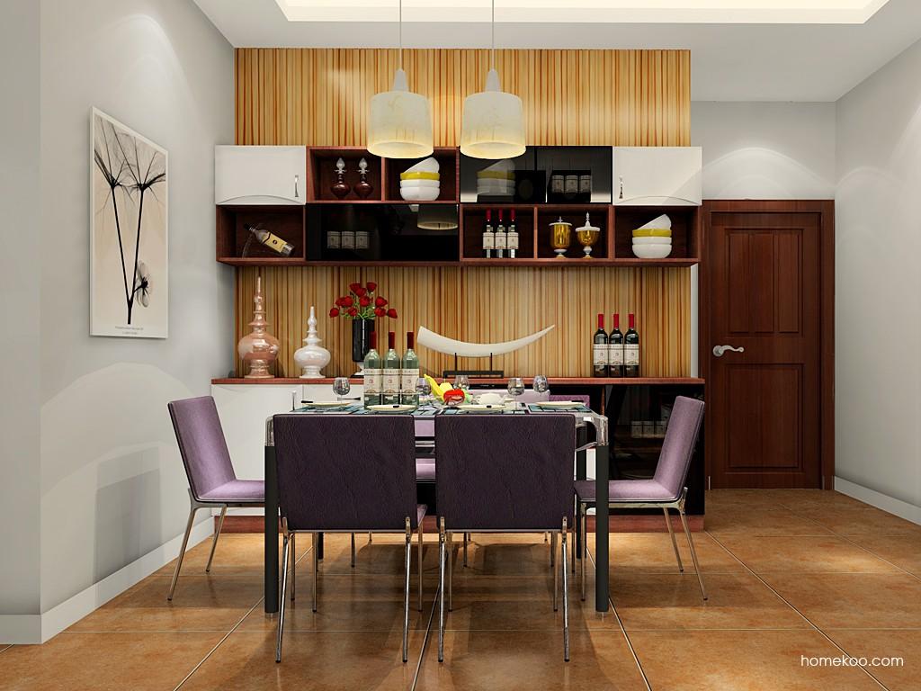 挪威月色餐厅家具E17654