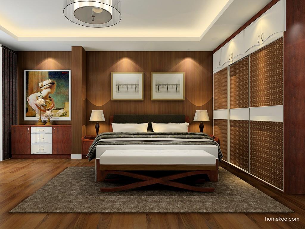 挪威月色卧房家具A19619