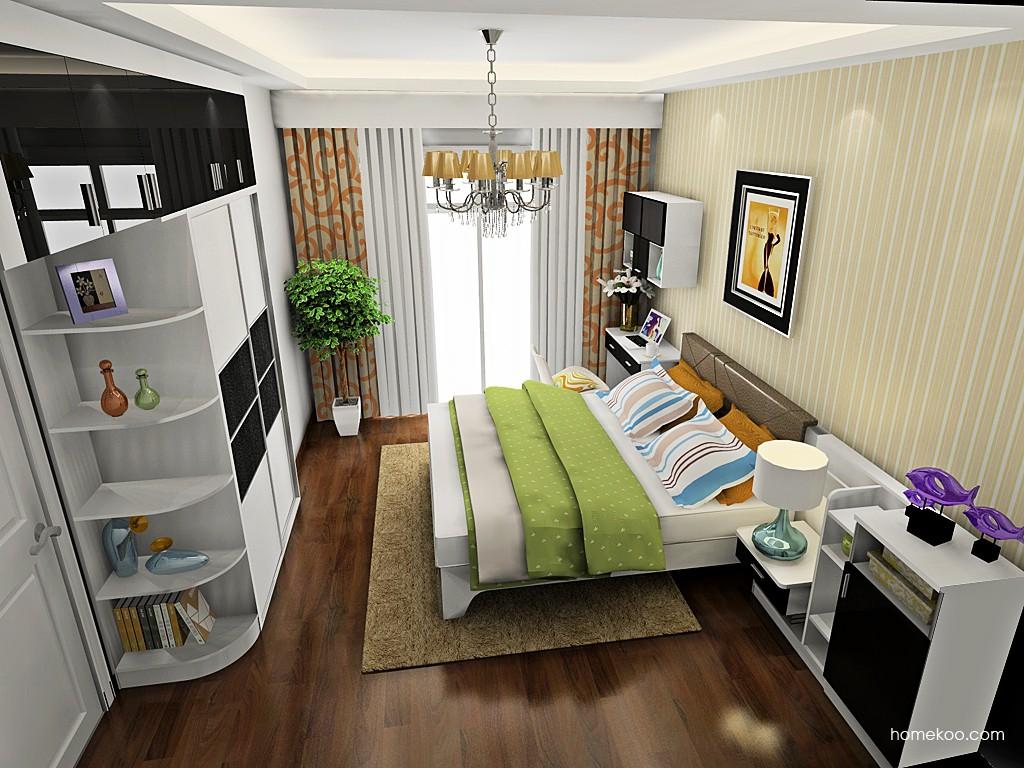 简约主义卧房家具A19626