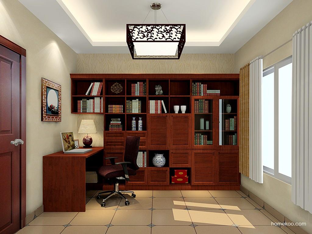 新中式主义书房家具C19509