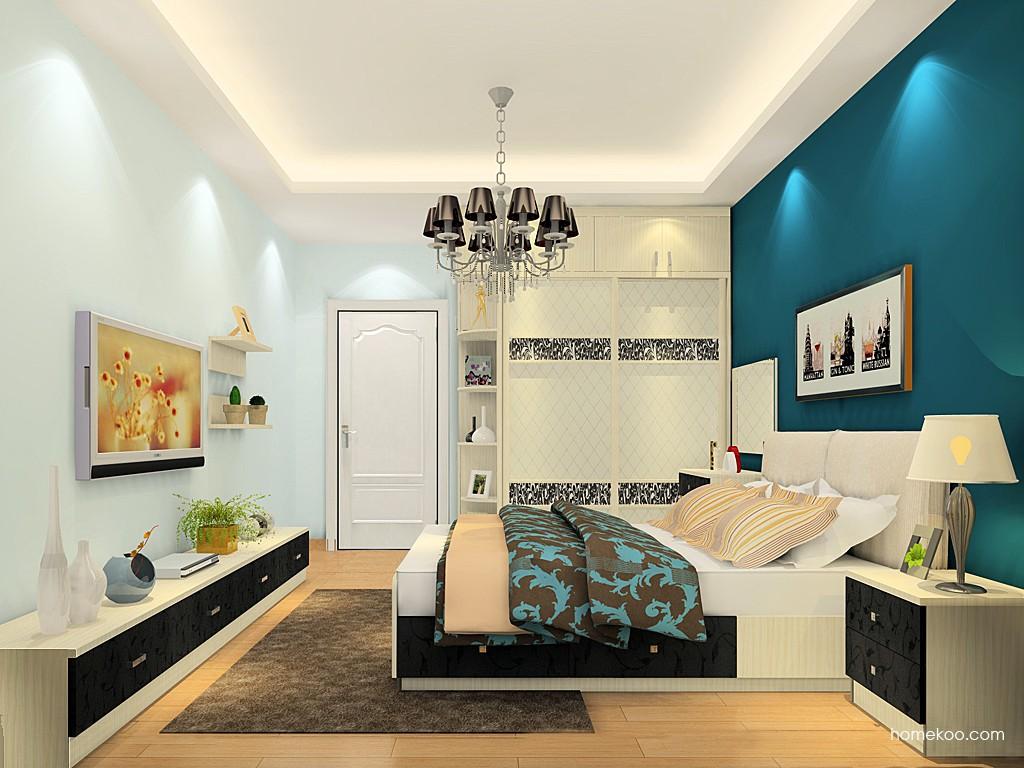 米兰剪影卧房家具A19635