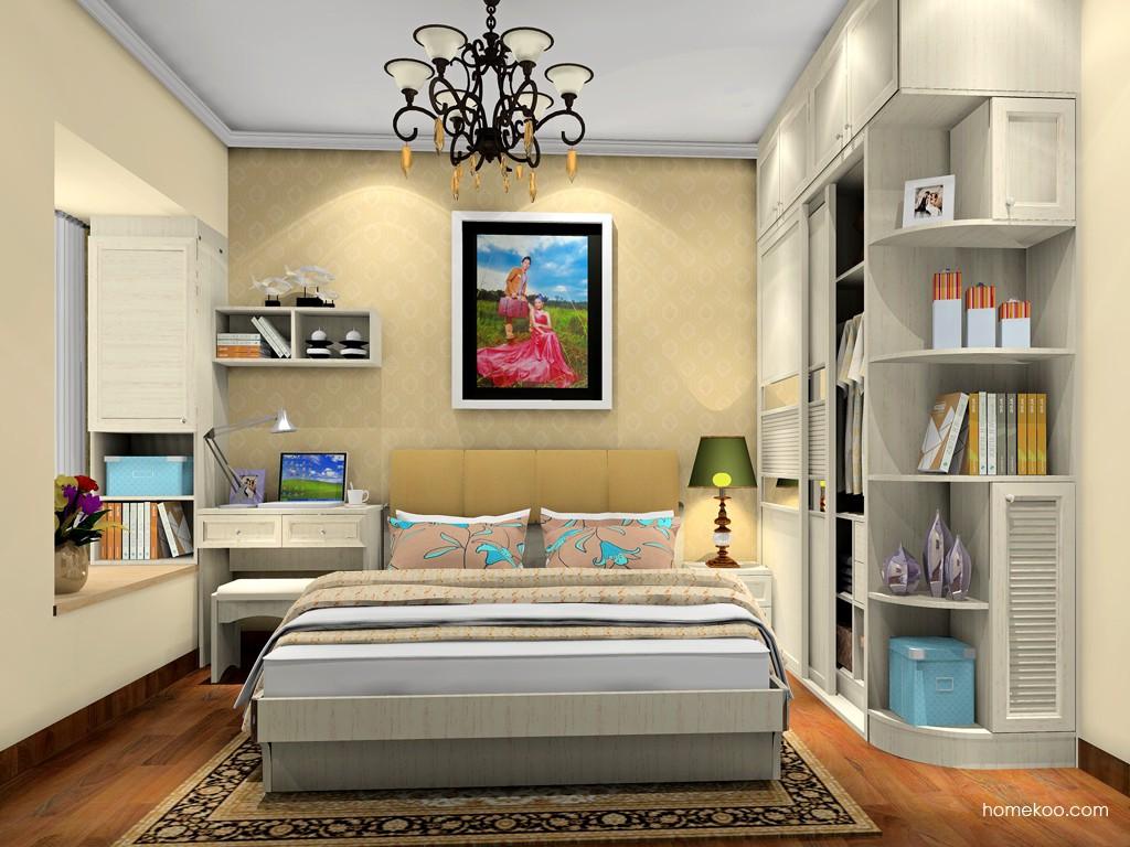 英伦印象卧房家具A19637