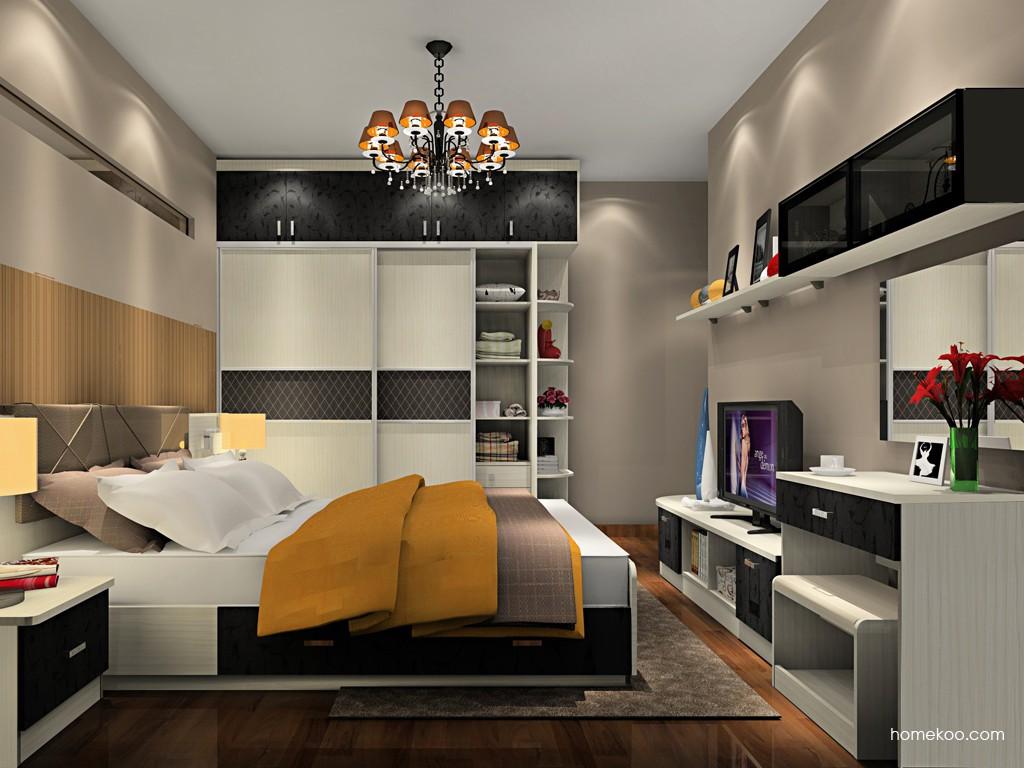 米兰剪影卧房家具A19642