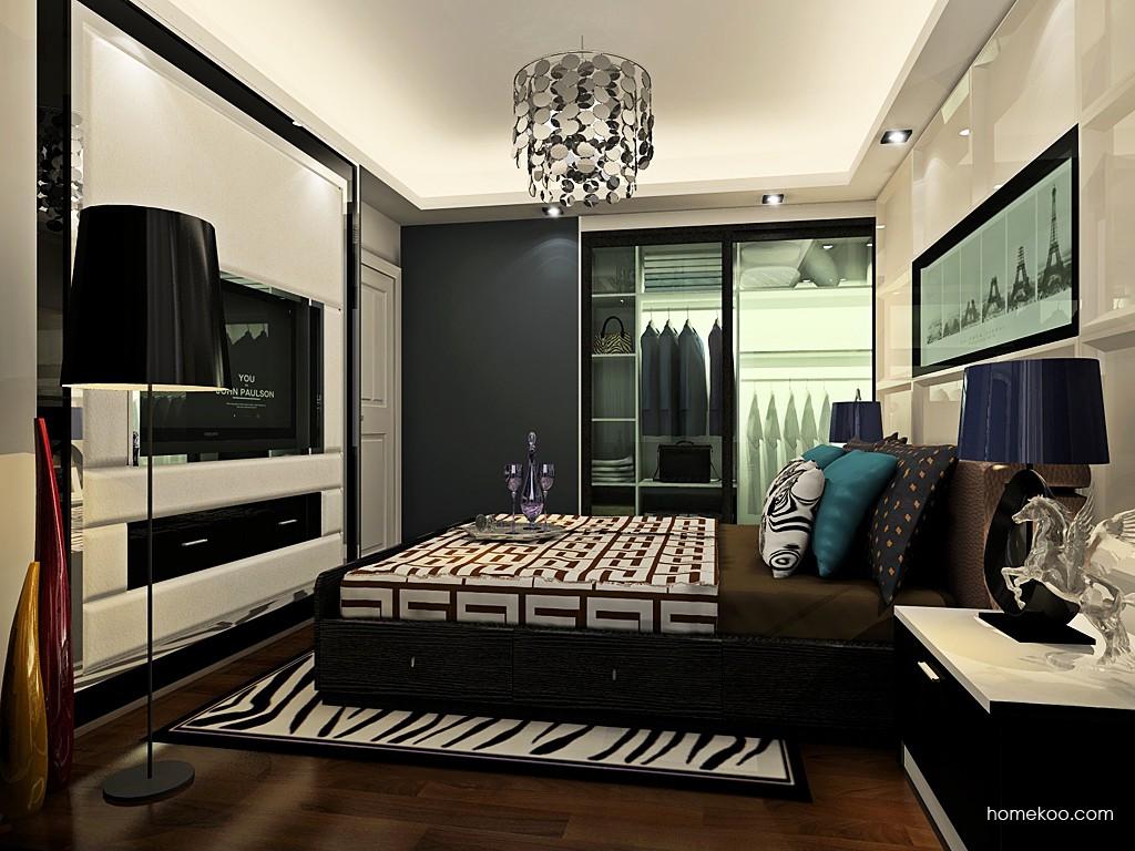 新实用主义卧房家具A19646