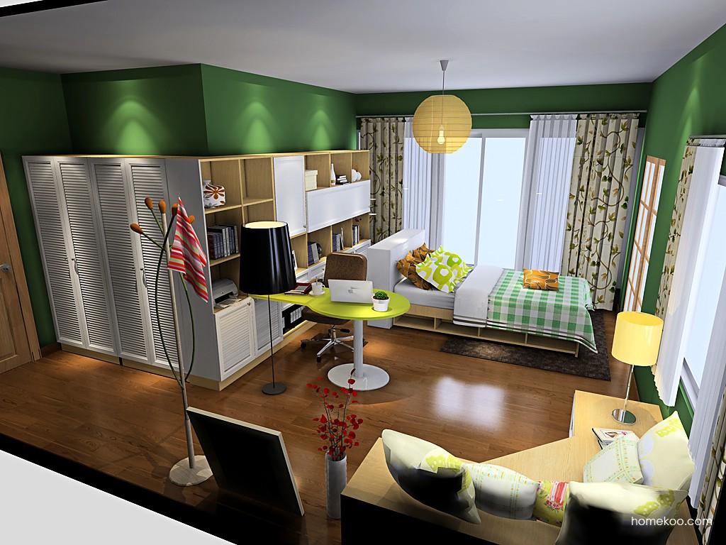 新实用主义卧房家具A19647