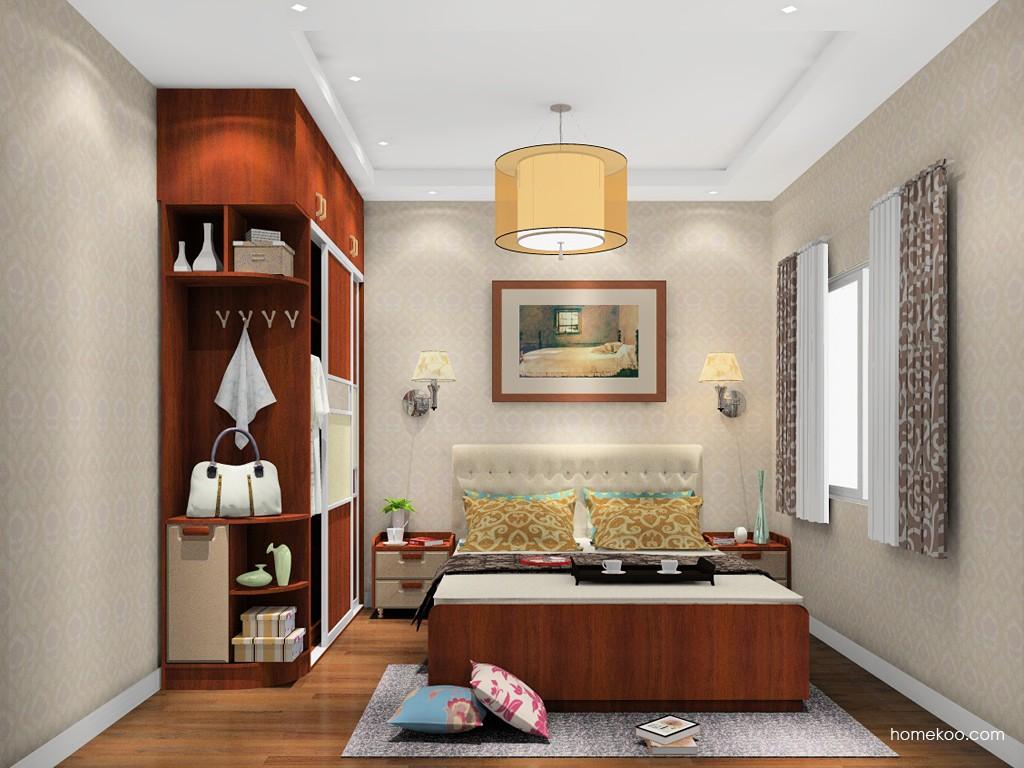 新实用主义卧房家具A19648
