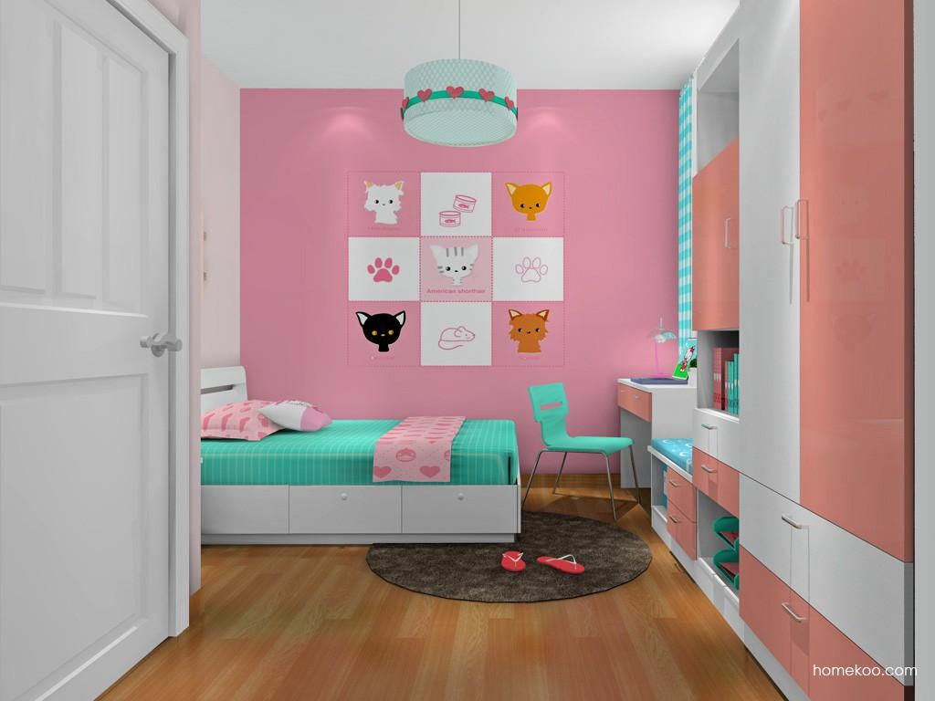 女孩的梦青少年房B19604