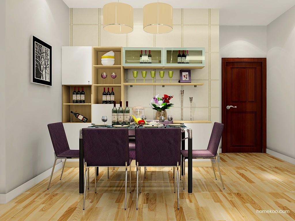 北美枫情餐厅家具E17655