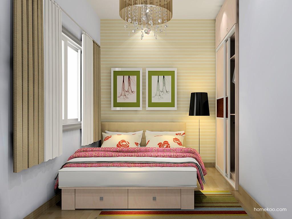 北欧阳光卧房家具A19653