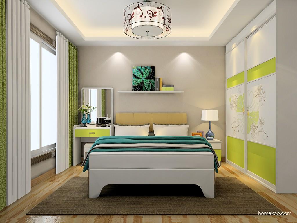 里昂春天卧房家具A19656