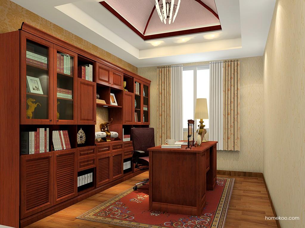新中式主义书房家具C19518