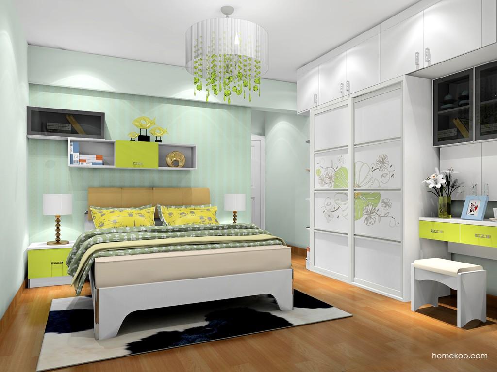 里昂春天卧房家具A19670