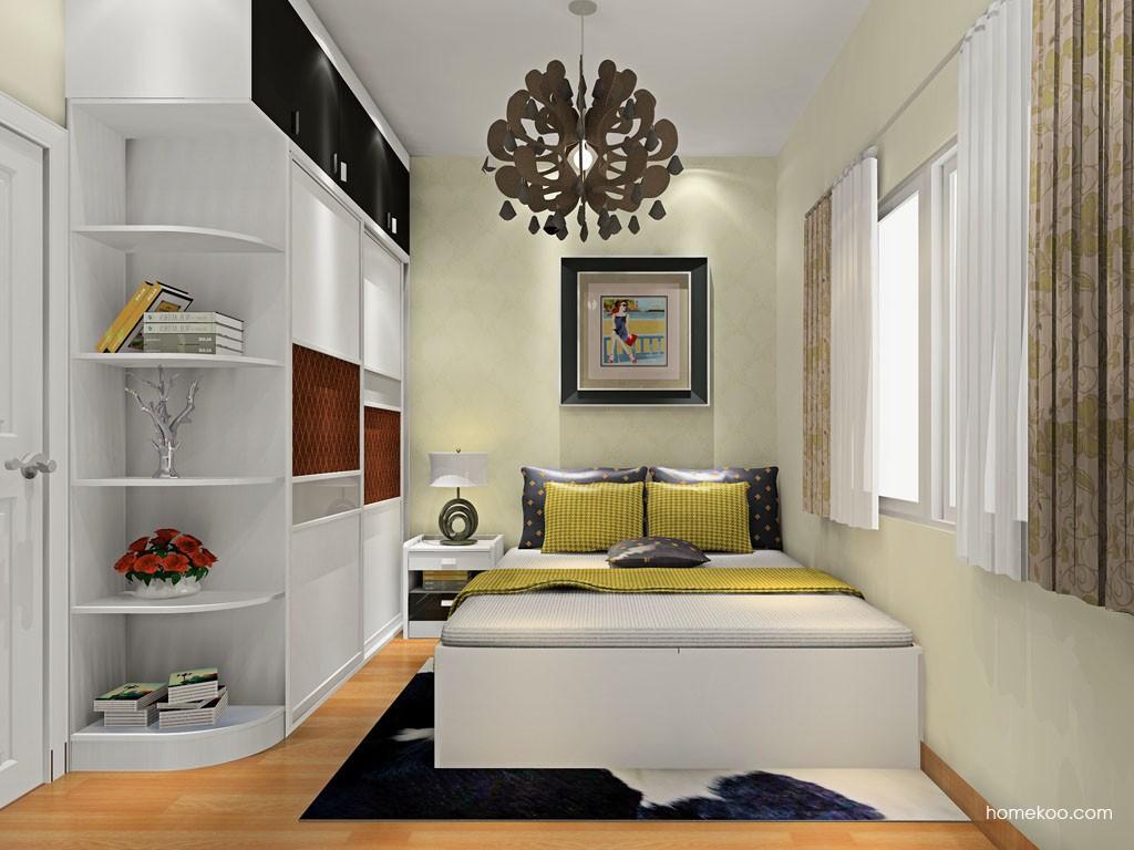 米兰剪影卧房家具A19676