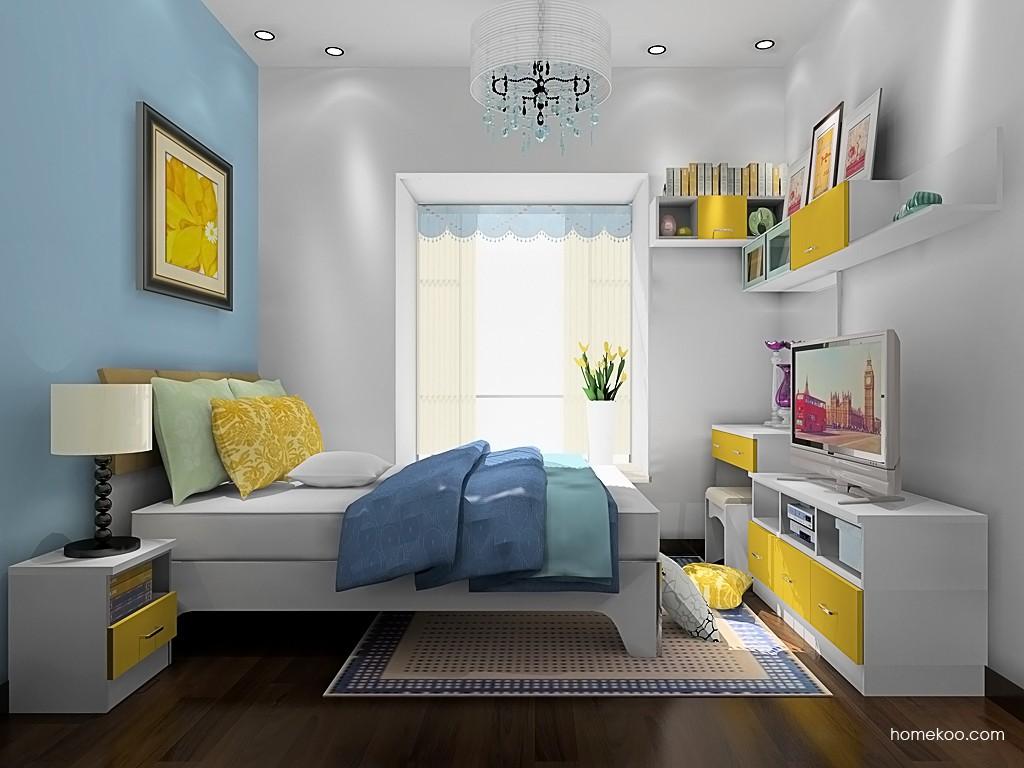浪漫主义卧房家具A19686