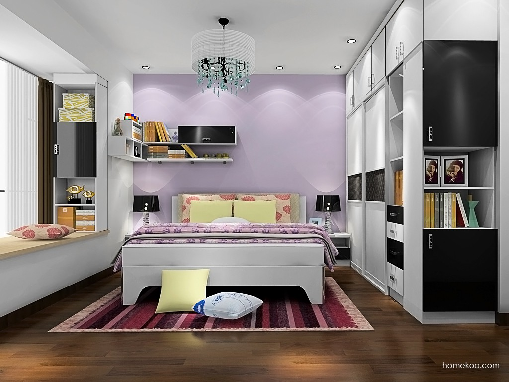 简约主义卧房家具A19687