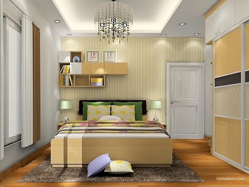 北美枫情卧房家具A19688