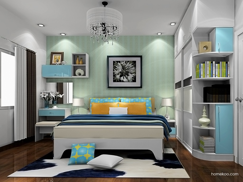 新实用主义卧房家具A19698